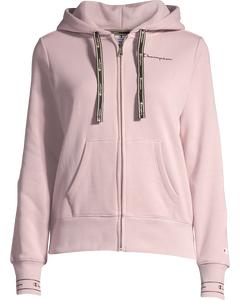 Hooded Full Zip Sweatshirt Violet Ice