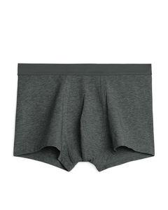 Pima Cotton Trunks Dark Grey