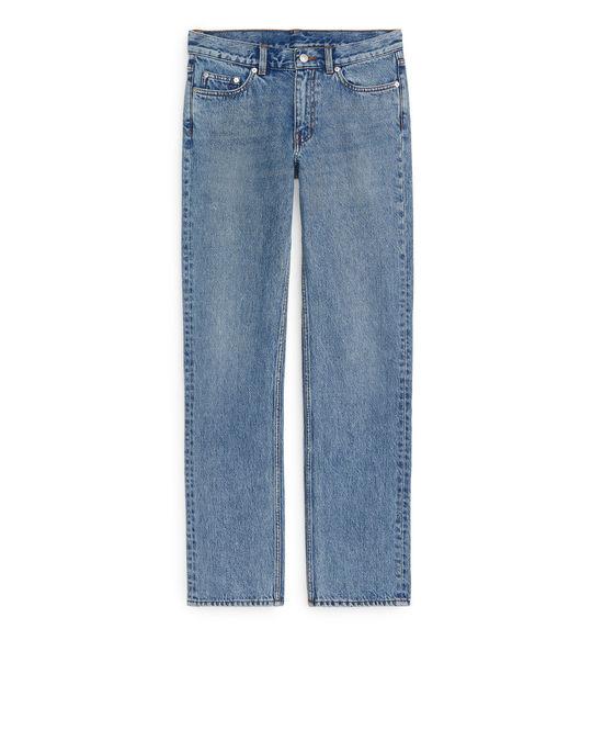 Arket STRAIGHT Jeans Blue