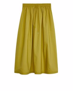 Drawstring Skirt Ochre