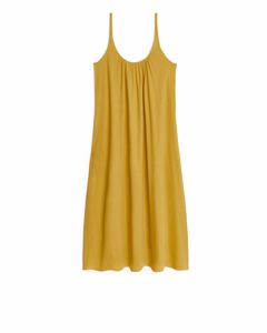 Strap Dress Yellow