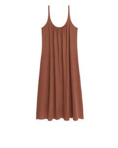 Strap Dress Orange