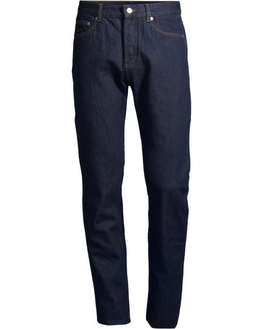 Arket REGULAR Rinsed Jeans Dark Blue
