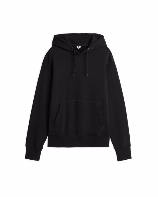 Arket French Terry Hoodie Black