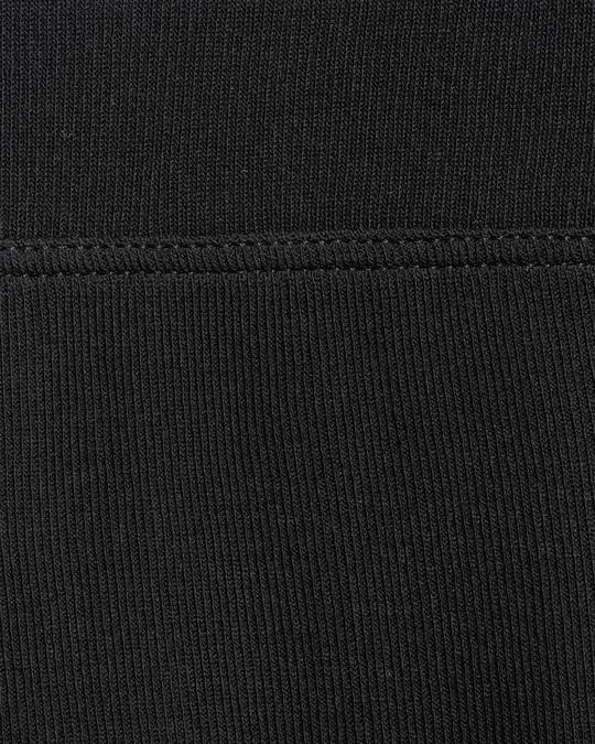 Arket Silk Rib Leggings Black