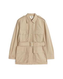 Outdoor Jacket Beige
