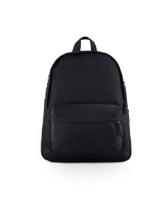 Emporio Armani Black Nylon Logo Backpack