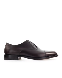 Moreschi Dark Brown New York Oxford Lace Up Shoe