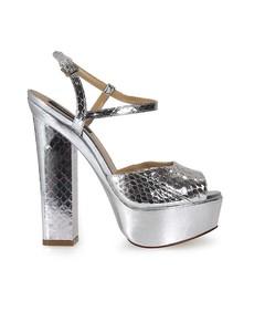 Dsquared2 Ayers Platform Ziggy Silver Sandals