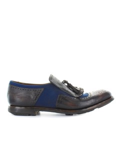 Church's Shanghai 11 Ebony Navy Moccasin