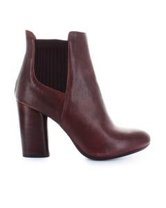 Fiori Francesi Bordeaux Leather Boots