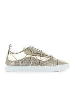 Dsquared2 Riri Gold Glitter Sneaker