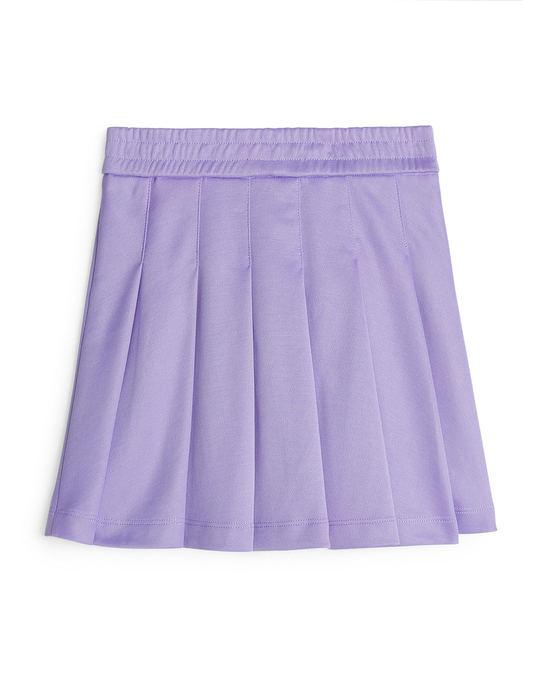 Arket Tennis Skirt Purple