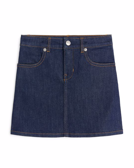Arket Skirt Blue