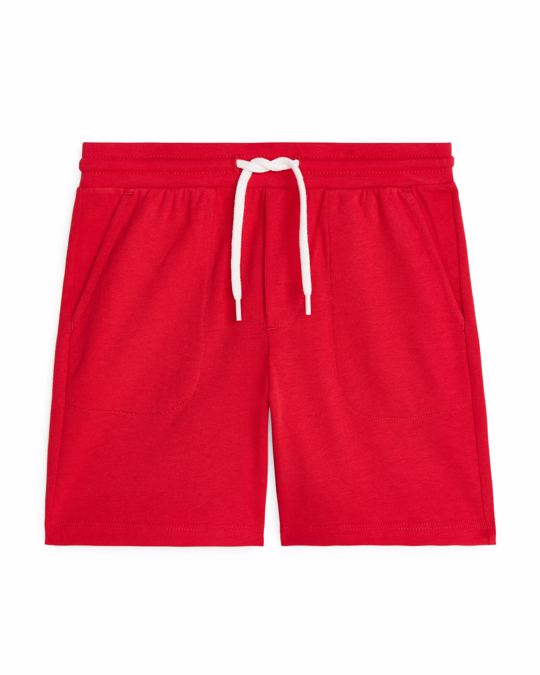 Arket Jersey Shorts Red