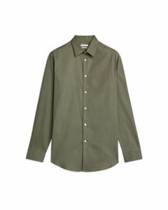 Shirt 6 Pinpoint Oxford Khaki Green
