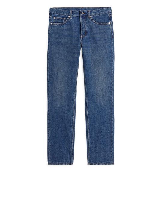 Arket REGULAR Jeans Dark Blue