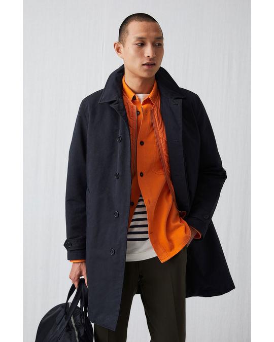 Arket Coat  Blue