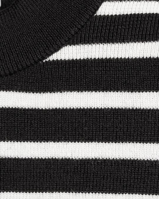 Arket Merino Buttoned Jumper Black