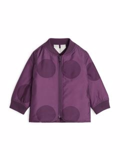 Liner Jacket Purple