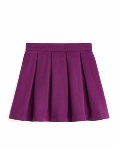 French Terry Skirt Pink