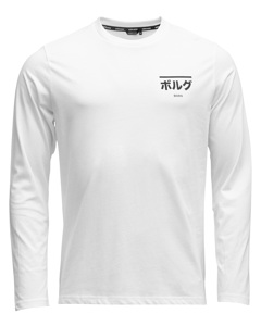 Ls Tee Bb Centre Bb Centre Brilliant White