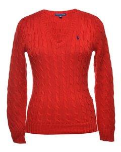 2000s Ralph Lauren Cable Knit Jumper