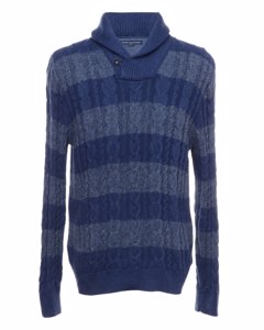 1990s Tommy Hilfiger Cable Knit Jumper
