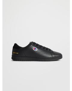 Low Cut Shoe Court Club P Black Beauty