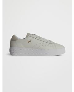 Low Cut Shoe Era Leather White