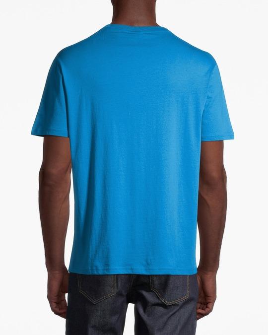 Champion Crewneck T-shirt B Blue Aster