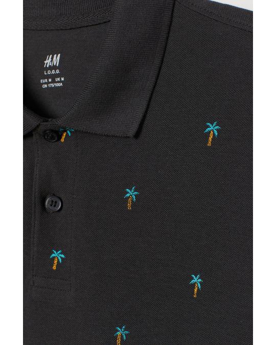 H&M Fav Polo Black