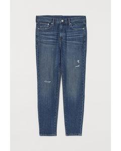 Konische Jeans denim blau