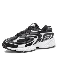 Fila Creator Black / White / Metallic Silver