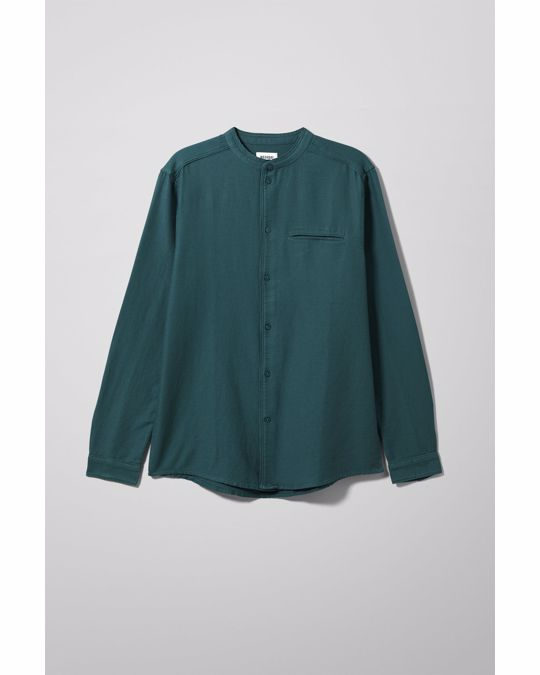 Weekday Hunt Shirt Turquoise