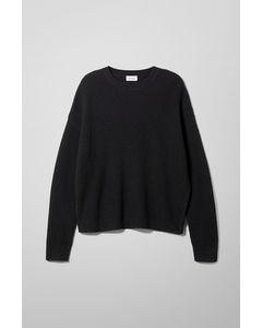 Nikolaj Slit Sweater Black
