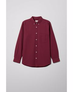 Henning Oxford Shirt Red