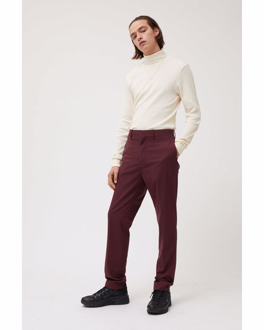 Weekday Bodie Suit Trousers Red