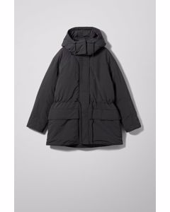 Zimbra Padded Jacket Black