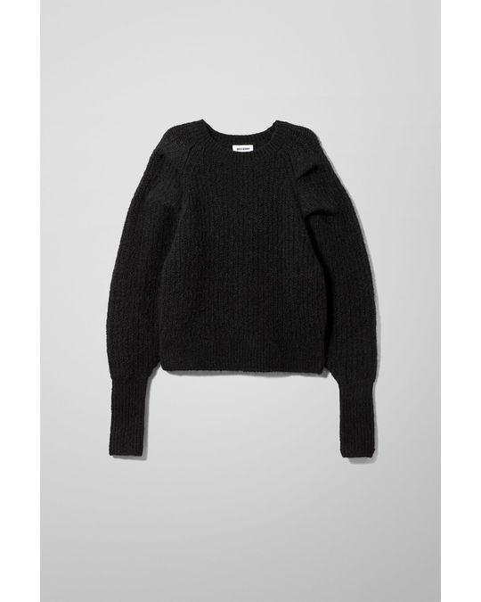 Weekday Vanetia Sweater Black
