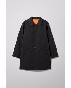 Marty Reversible Coat Black