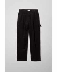 Dimitri Cord Trousers Black