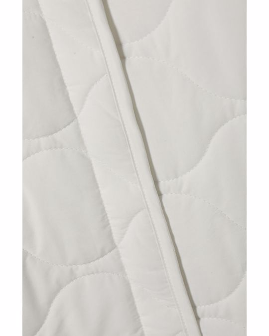 Weekday Nova Quilted Jacket White