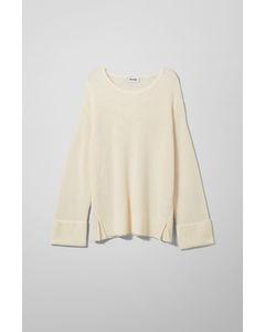 Danna Sweater White