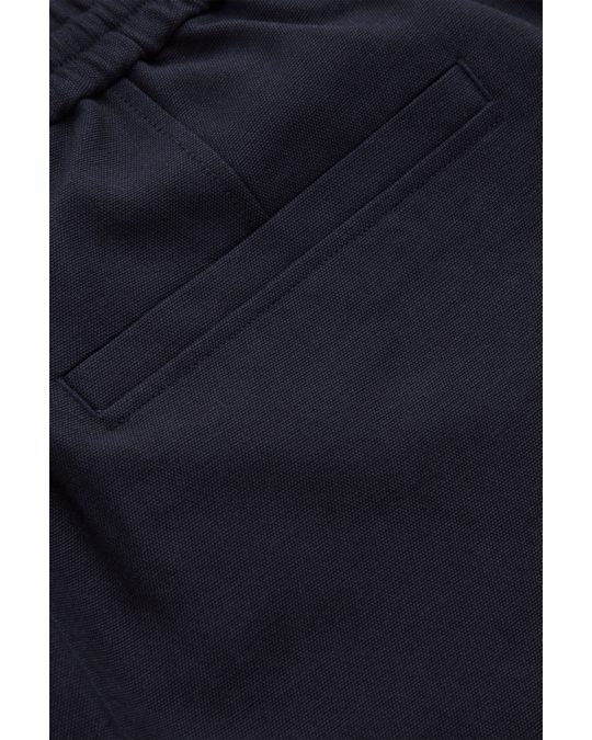 COS Relaxed Elasticated Trousers Navy