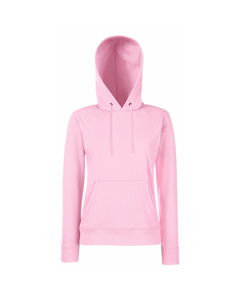 Fruit Of The Loom Ladies Lady Fit Hooded Sweatshirt / Hoodie