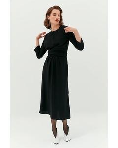 Midi Draped Dress