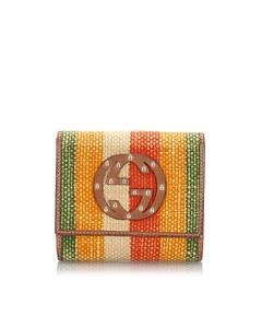 Gucci Canvas Wallet Brown