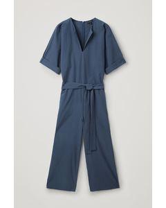 Ls M Jumpcord Jumpsuit 2 Blue