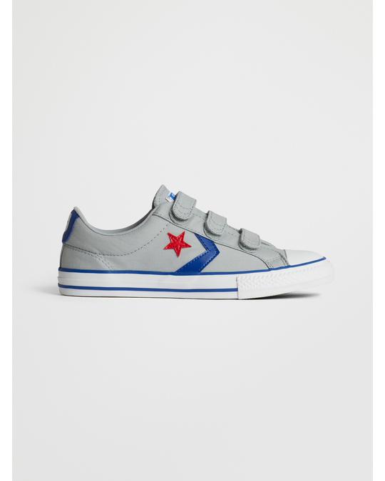 Converse Star Player 3v Ox 663601c Grey/blue